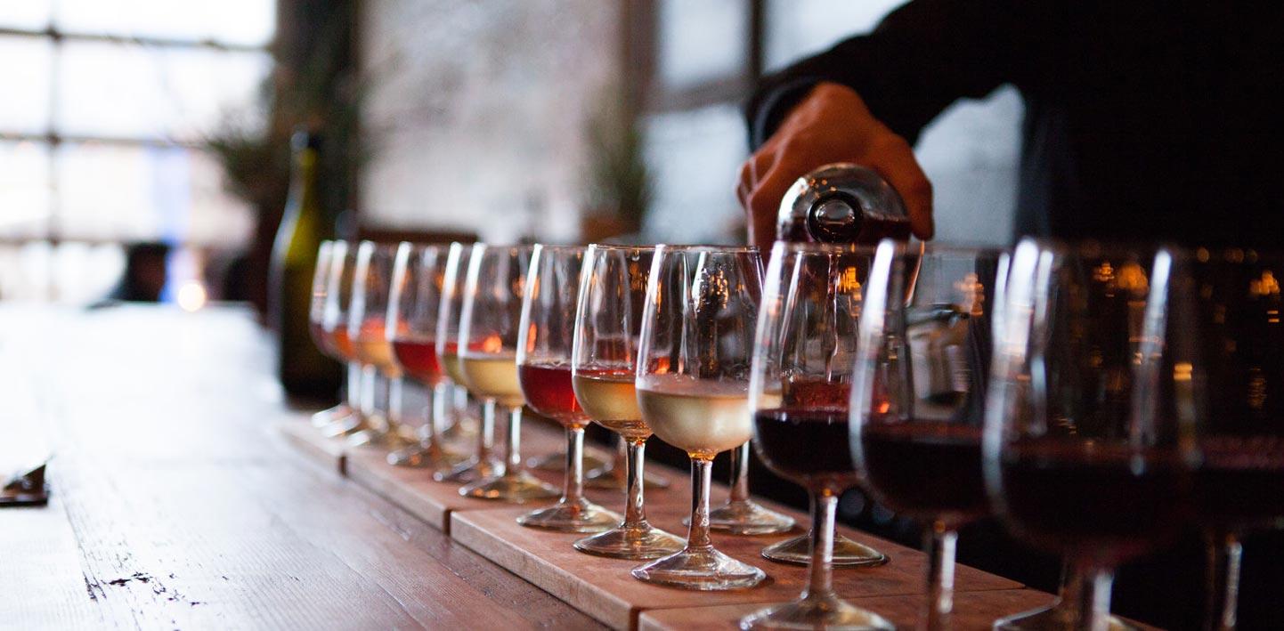 Degustujemy wino!