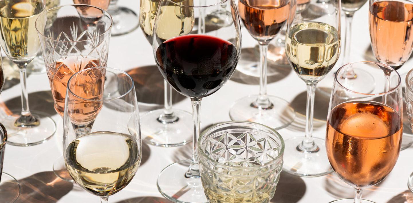 Wybierz kieliszek doulubionego wina