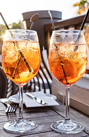 Spritz Tramonti – gotowy drink naletnie dni